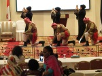 Bedouin folk dancers